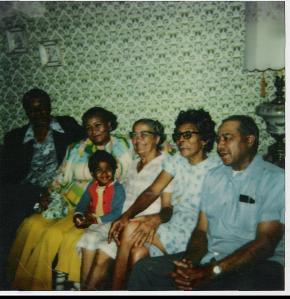 My Grandpa, his mom, me, my great grandpa's mom, great grandma, great granddad